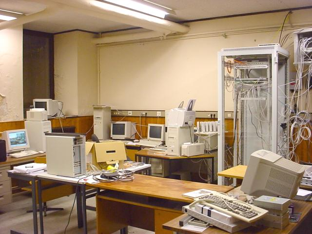 Our former Computer Room in the basement of the LTNB school